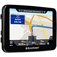 Blaupunkt TravelPilot EU Satellite Navigation System – UK & Ireland, Touch Screen Display, Maps with Bluetooth Handsfree Function, Black