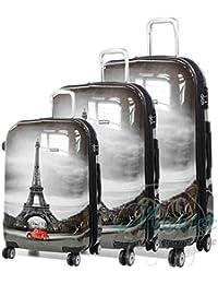 Set de maletas de viaje Paris, ABS 4 ruedas trolley. Oferta 3 unidades.