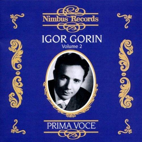 Igor Gorin, Volume 2 (1939-1955) by Igor Gorin (2008-08-12)