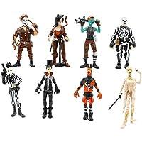 KOBWA Figuras Fortnite,Anime Cartoon Fortnite Figura de Acción Juguetes Fortnite Personajes Muñecas para Niños Hombre Juego Fans