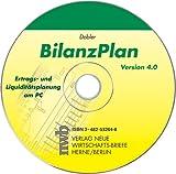 BilanzPlan 4.0. CD-ROM für Windows 98/ME/NT 4.0/2000/XP. Ertrags- und Liquiditätsplanung am PC.