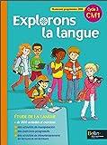 Explorons la langue CM1 manuel élève