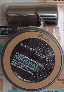 Fond de Teint Pure Mineral - N°74 Dune Rosé - Gemey Maybelline