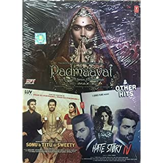 Padmavaat + Sonu Ke Titu Ki Sweety + Hate Story 4 Full Songs Plus Other Hits - 50 New Bollywood Songs MP3