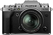 Fujifilm X-T4 Mirrorless Digital Camera, Charcoal Silver Fujinon XF18-55 mm F2.8-4 R LM Optical Image Stabilis