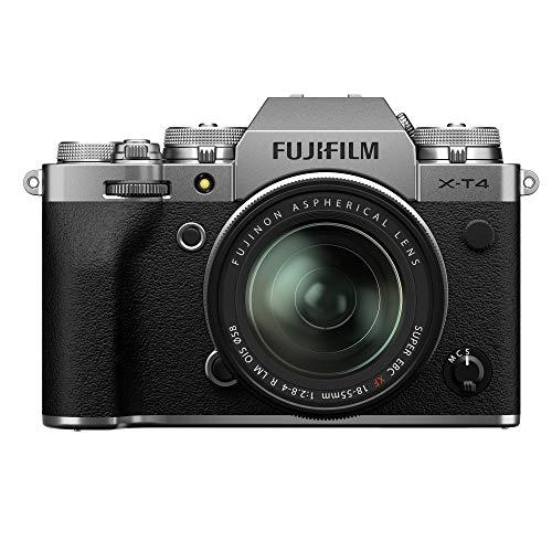Oferta de Fujifilm X-T4 - Kit de cámara con Objetivo XF18-55/2.8-4, Color Plateado