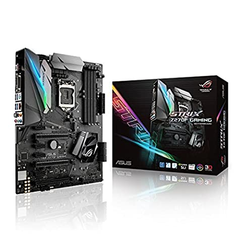 Asus ROG Strix Z270F Gaming Mainboard Sockel 1151 (ATX, Intel