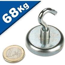 Innen-Gewinde: M3x5 bis M12x14 - Durchmesser: /Ø 6 bis /Ø 63mm NdFeB Stabgreifer Magnet Neodym Haltemagnet Innengewinde Neodym N35 Haftkraft bis 170kg Starke Magnete f/ür Industrie und Zuhause Gr/ö/ßen:/Ø 13 M4x7