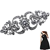 Women Crystal Rhinestone Brooch Wedding Party Bridal Flower Brooch Pin