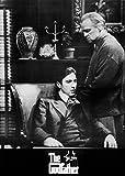 Der Pate - The Godfather (1971): Al Pacino und Marlon Brando | US Filmplakat, Poster [59 x 84 cm]