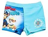 Boxer de bain enfant garçon La Pat' Patrouille Bleu de 3 à 8ans