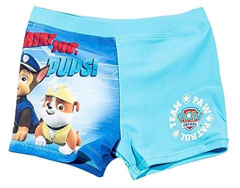 Boxer de bain enfant garçon La Pat' Patrouille Bleu de