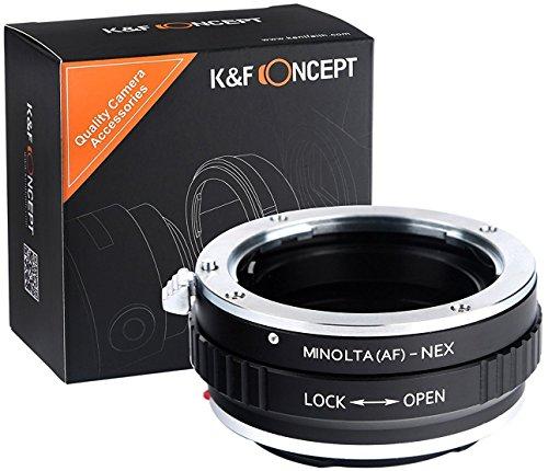 adapter kompatibel mit MAF-NEX Minolta SA AF MAF auf Sony NEX Alpha E-Mount Adapter Adapterring Kamera Objektiv ()