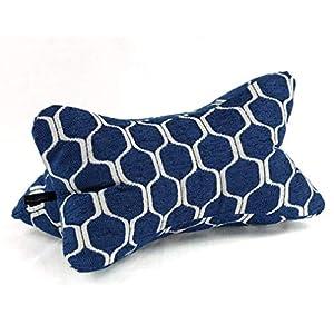 Lesekissen Bücherkissen Leseknochen Strandkissen Yogakissen Nackenkissen Retro 40 x 20 x 20 cm von Beletage Agadir blau