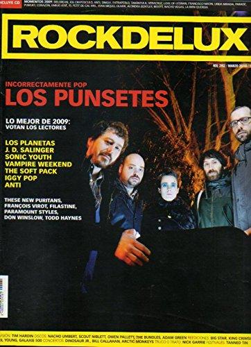 ROCKDELUX. Nº 282. No conserva CD. Los PunsetesM Lo nejor de 2009; Los Planetas; H. D. Salinger; Sonic Youth; Iggy Pop...