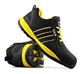Mens New Leather Safety Steel Toe Cap Lightweight Work Boots Trainers Shoes Bild 3