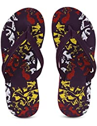 Puma Women's Ronni V3 Idp Plum Purple-high Risk Red-p Outdoor Sandals