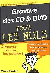 Gravures CD et DVD, poche pour nuls