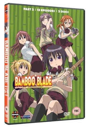 Bamboo Blade - Series 1 Part 2 [DVD] by Chris Burnett (Bamboo Blade)
