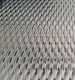 Edelstahl Blech 5WL Strukturblech 1mm stark 100cm x 50 cm (1000x500mm) V2A Blech CNS Blech Blechtafel Blechzuschnitt mit Schutzfolie, Schnittkanten entgratet