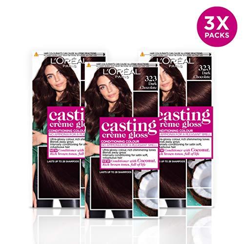 L\'Oreal Casting Creme Gloss Dark Chocolate 323