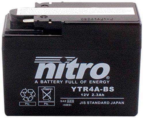 Preisvergleich Produktbild NITRO YTR4A-BS -N- Batteries, Schwarz (Preis inkl. EUR 7,50 Pfand)