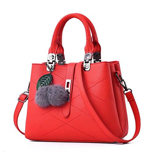 Fille de sac2017les nouvelles femmes sac à main d'âge moyen de paquet de mode grande capacité simple sac d'épaule dame cent-E JiEL8O