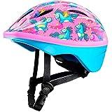 OutdoorMaster klein Kind Helm, Spaß-Design Fahrradhelm für Kinder (Alter 3-5) - Skate Helm Radhelm für Jungen Mädchen- mit 14 Lüftungsöffnungen für mehr Komfort - Einhörner