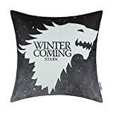 B Lyster shop A Game of Thrones Houses Stark Winter Is Coming 4 WWJ205 Cotton & Polyester Soft Zippered Cushion Throw Case Pillow Case Cover