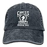 Chess is Not A Hobby Apocalyptic Survival Skill Denim Hat