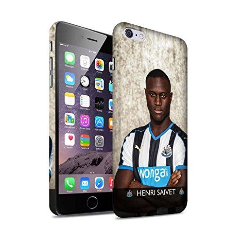 Officiel Newcastle United FC Coque / Clipser Matte Etui pour Apple iPhone 6S+/Plus / Janmaat Design / NUFC Joueur Football 15/16 Collection Saivet