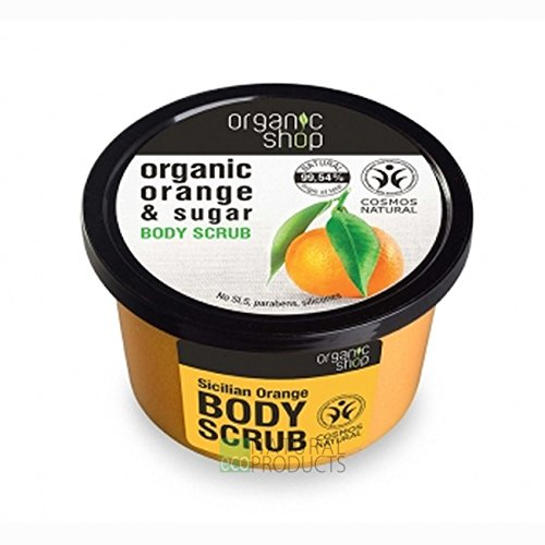 Organico Shop Sicilian Orange Body scrub,