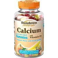 Sundown Naturals Calcium Plus Vitamin D3 Gummies, 50