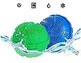Biezutu Wäscherei Kugelwaschmaschine mit Bamboo Holzkohle NanoWäscheklauch Ball Kein Waschmittel Nicht-giftigen Natürlichen Wäschekall (zufällige Farbe)