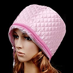 Hair Beauty Nourishing Steamer Thermal Treatment Cap-Pink