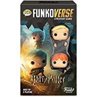 Funko 42644 Harry Potter 101 Funkoverse Extension (2 Character Pack) English Board Game, Multi Colour