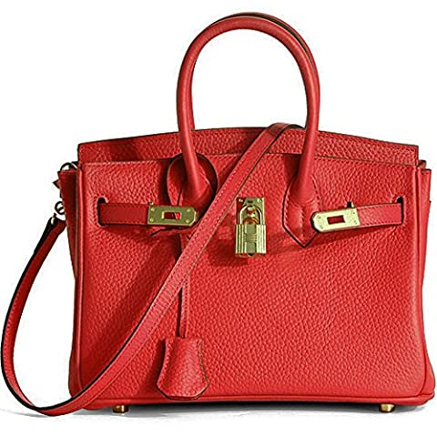 Macton , Sacs bandoulière femme - Gris - rouge, 24,89 cm