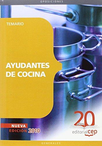 Ayudantes de Cocina. Temario (Colección 96) por Sin datos