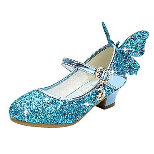 Kleinkind Kinder Baby Mädchen Crystal Bling Schmetterling Single Princess Schuhe Sandalen Baby Sandalen Mädchen Sandalen Mädchen Glitzer-Pwtchenty
