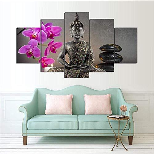 Leinwandbild Buddha III