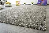 Shaggy Hochflor Teppich Funny Soft Touch Langflor in der Farbe grau GUT Siegel, Größe: 240x340 cm