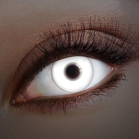 12 Mois Costume Idées - UV Couleur des lentilles de contact Snow
