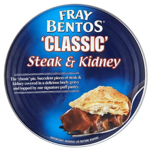 Fray Bentos 'Classic' Steak & Kidney Pie 6 x 475g (Kidney Steak Pies And)