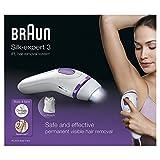 Braun Silk-expert 3 BD 3005 Épilateur Lumière Pulsée Intense IPL Blanc/Violet – Système d'Épilation Permanente - 7