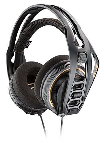 Plantronics Gaming Headset Rig 400 Stereo Gaming Headset für PC mit Prepaid Dolby Atmos Aktivierungscode enthalten Plantronics Gaming-headsets