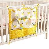 Vine Vide Poches pour Lit Bébé sac de rangement complet coton Infant Lit sac à main Diaper sac à main