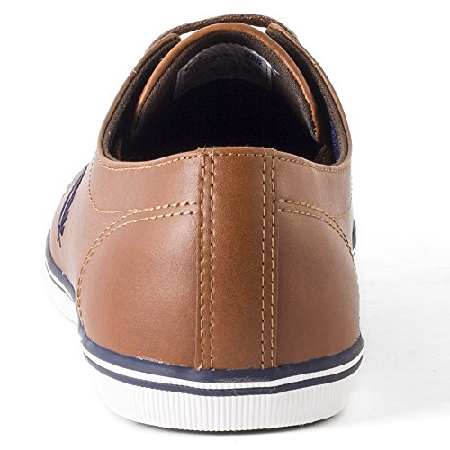 Fred Perry Kingston Leather Tan B6237448 Marrone
