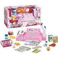 Casa de bricolaje Juego de roles Fingir Juguetes para niños Inicio Supermercado Set de compras Girls