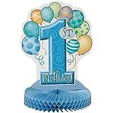 Pieza central Primer muchacho del cumpleaños - Cumpleaños infantiles - 1 Año Decoración Niño