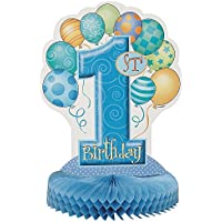 Fournitures 1er anniversaire bleu